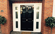 secure residential doors